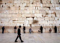 Not graven images, perhaps, but some people will worship stones! The Wailing wall. Who built it?